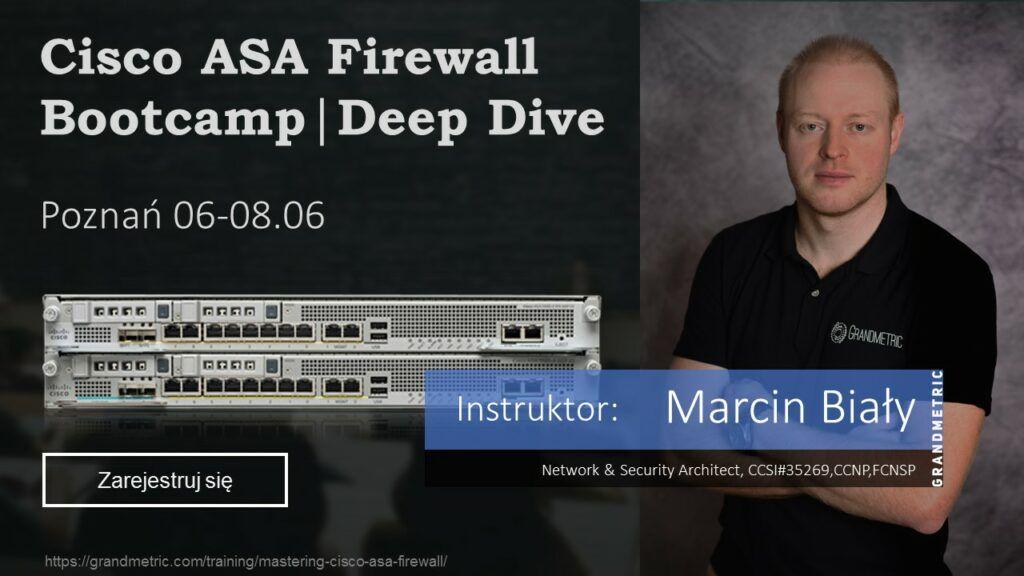 Cisco ASA Bootcamp, FirePower training on site