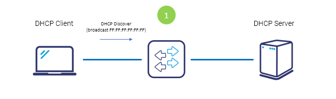 DHCP Discover packet