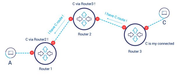 dynamic routing idea