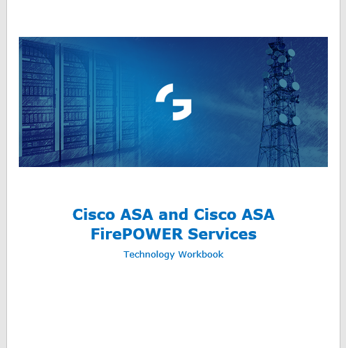 Cisco ASA FirePOWER Services training