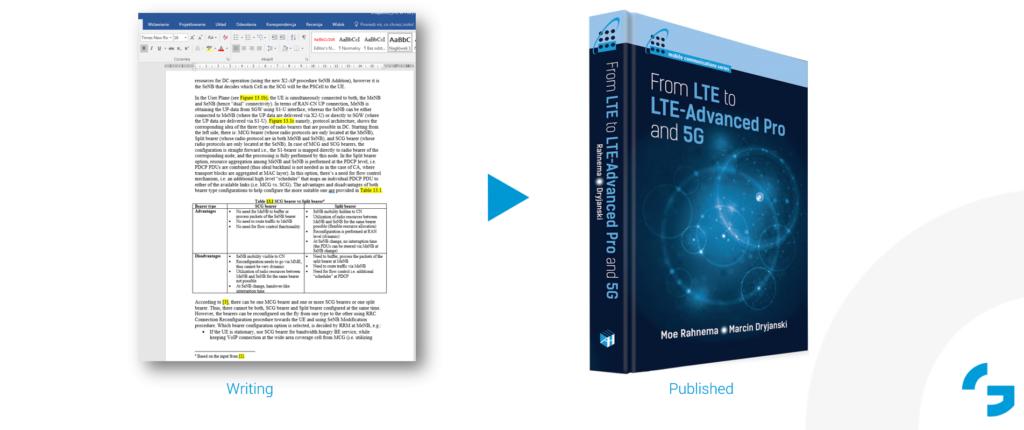 book technical content LTE