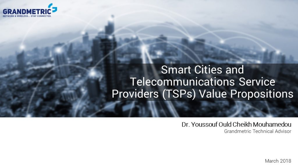 Smart Cities IoT TSP Value