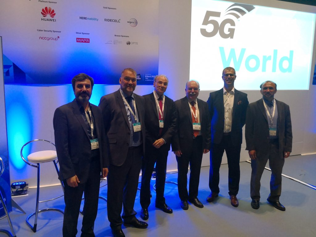 5G Standards 5G World Marcin with speekers