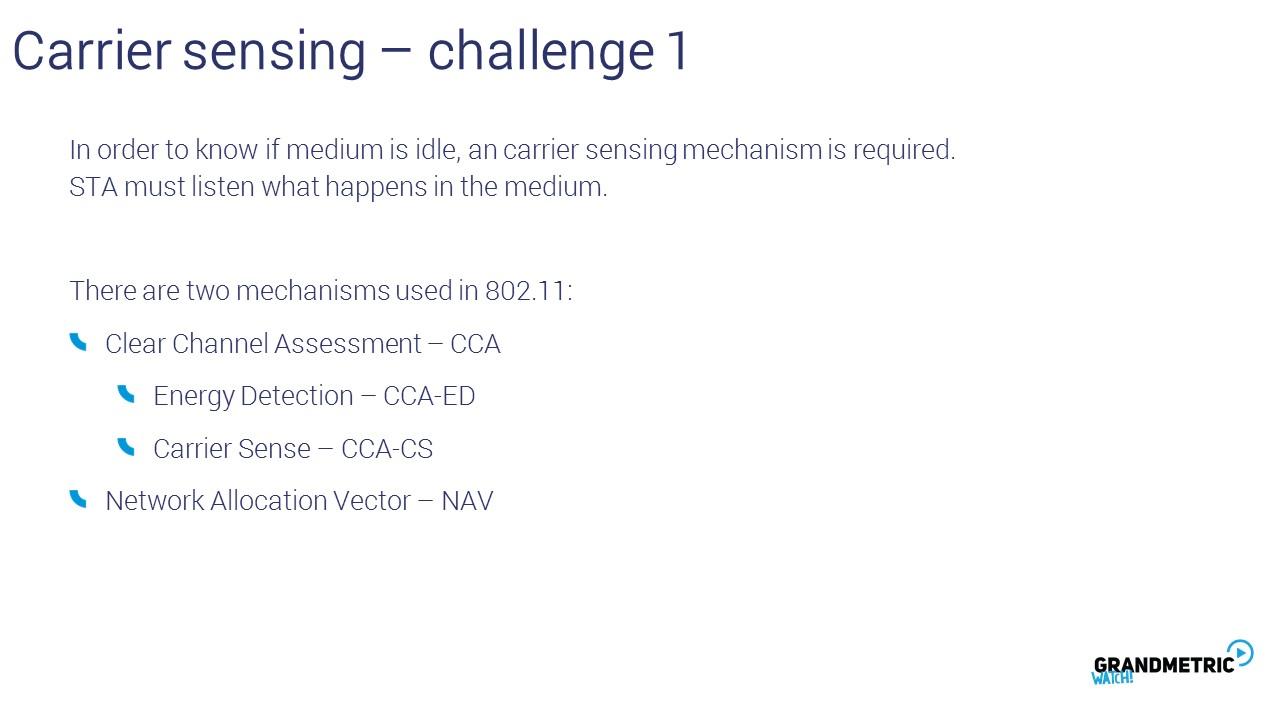 Carrier Sensing