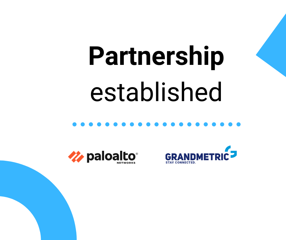 Grandmetric bonds parthership in the field od cybersecuritywith PaloAlto Networks