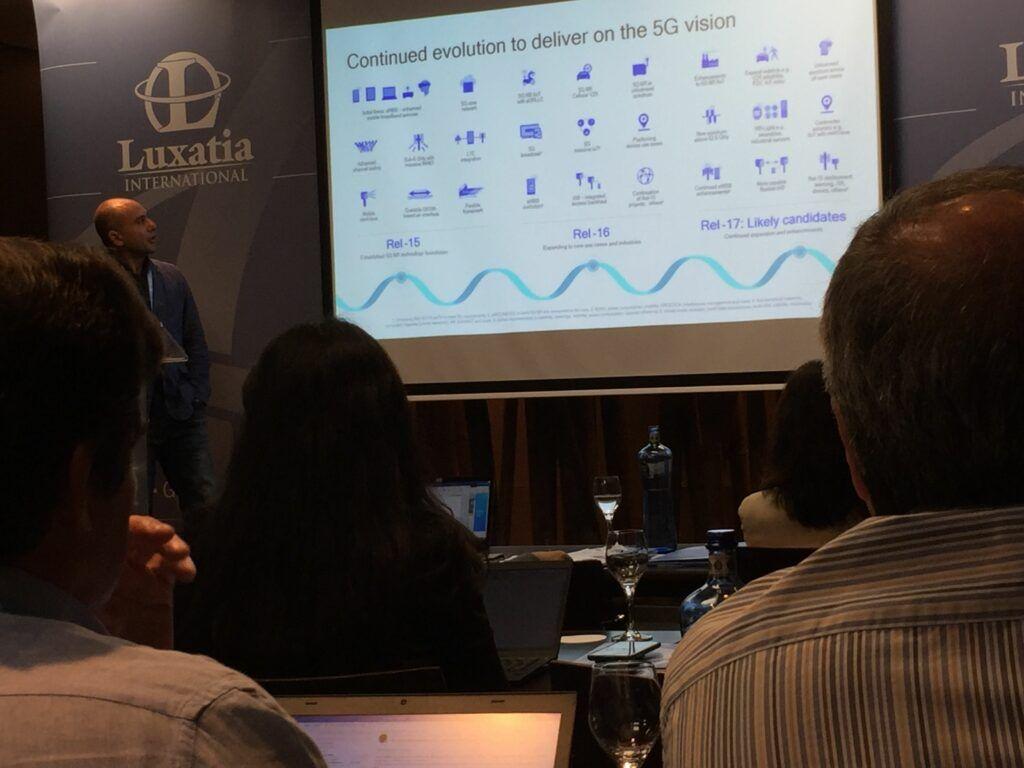 World 5G Summit presentation