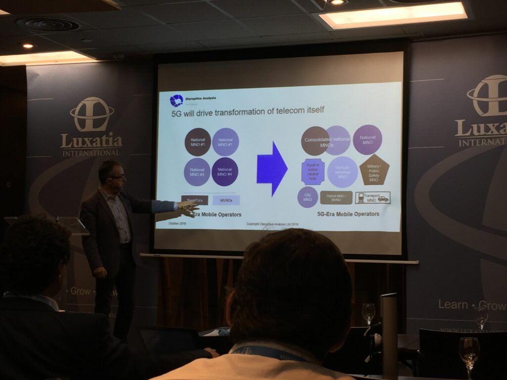 Telecom transformation World 5G Summit agenda