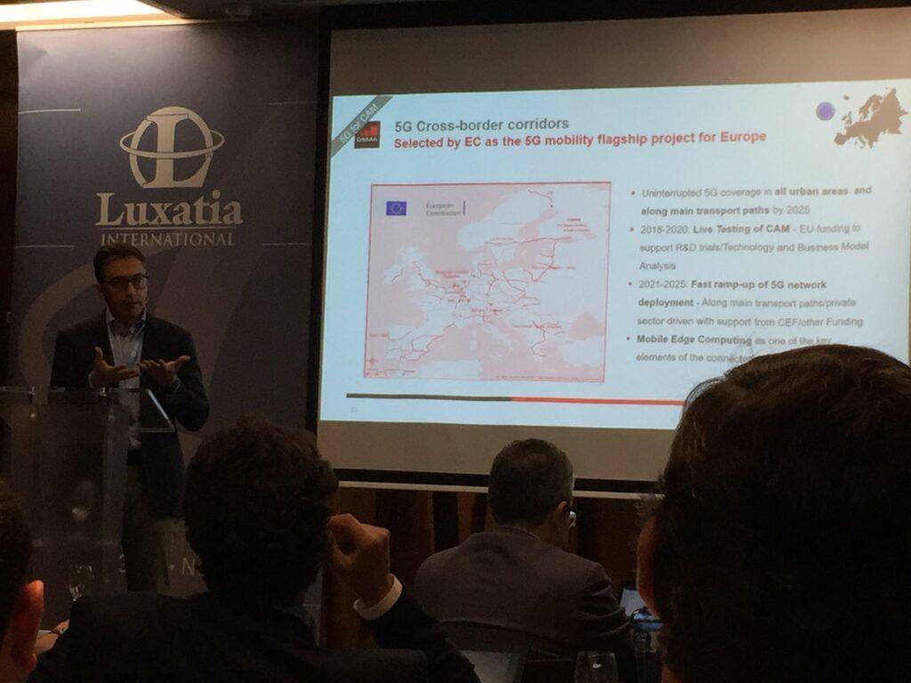 Cross-border corridors - World 5G Summit