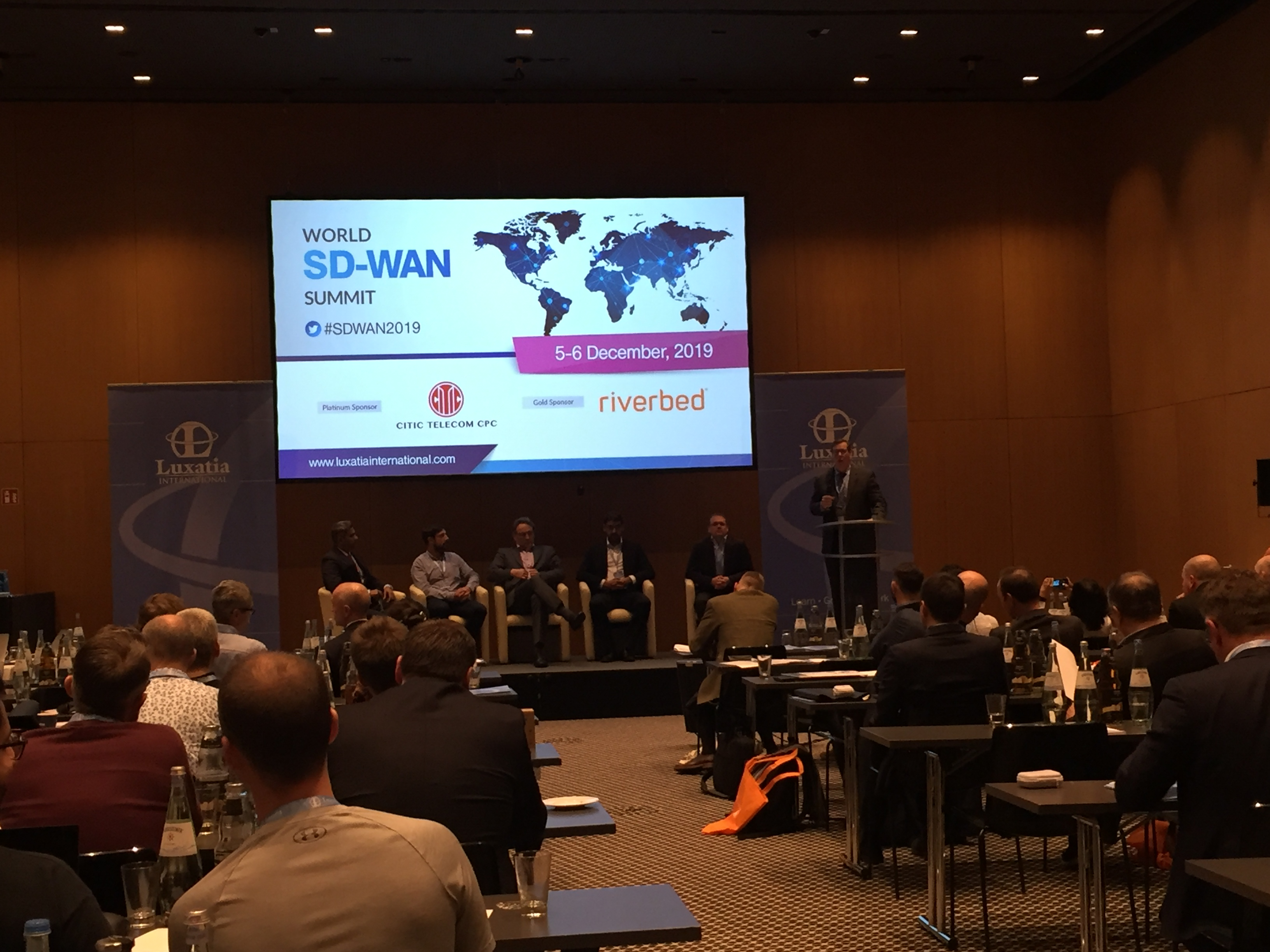 World SD-WAN Summit panel discussion