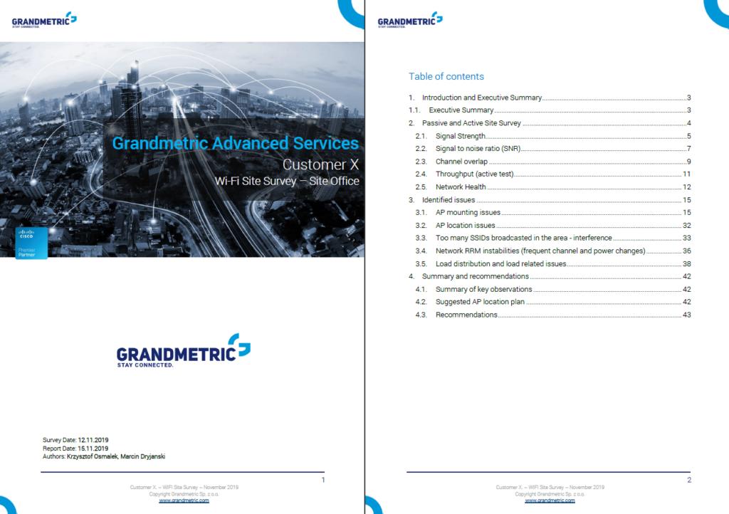 GM Site survey report