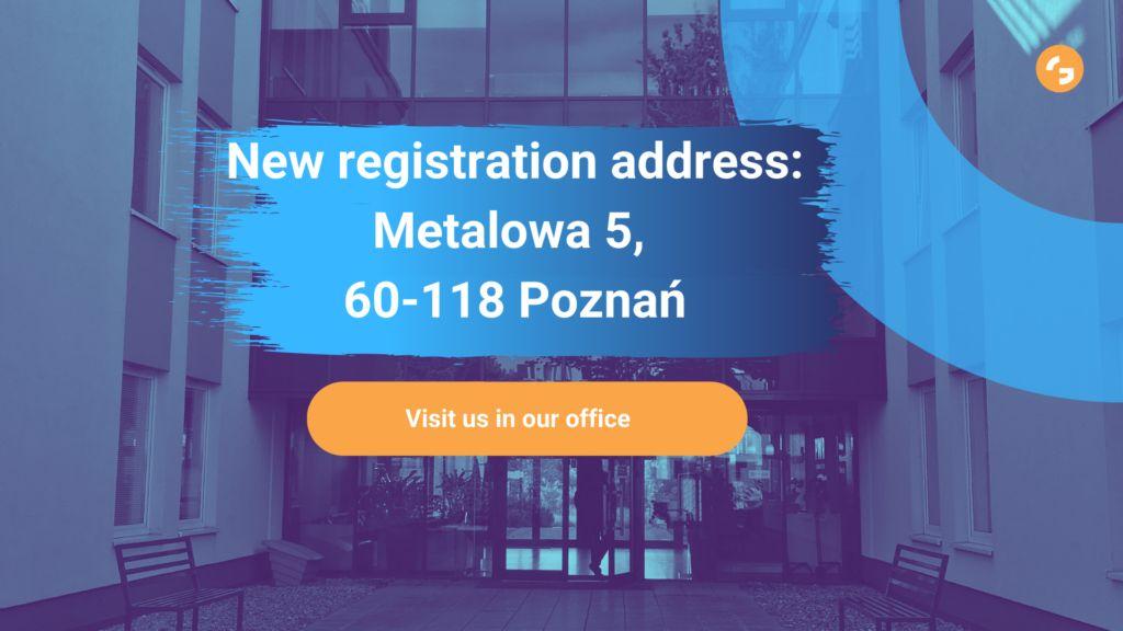 new grandmetric address change