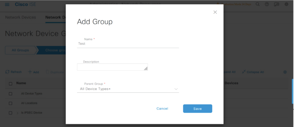 Device Type Group Name